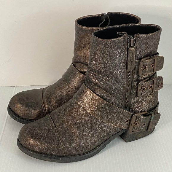 """Kenneth Cole Reaction Boots """"Dollar"""" size 8 @"""